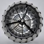 OBR. 4 - nosný rám turbíny